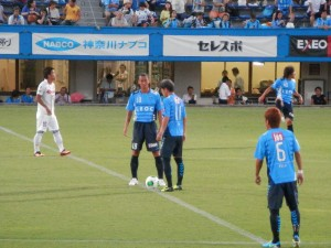 2013/09/01 vs 群馬 キックオフ