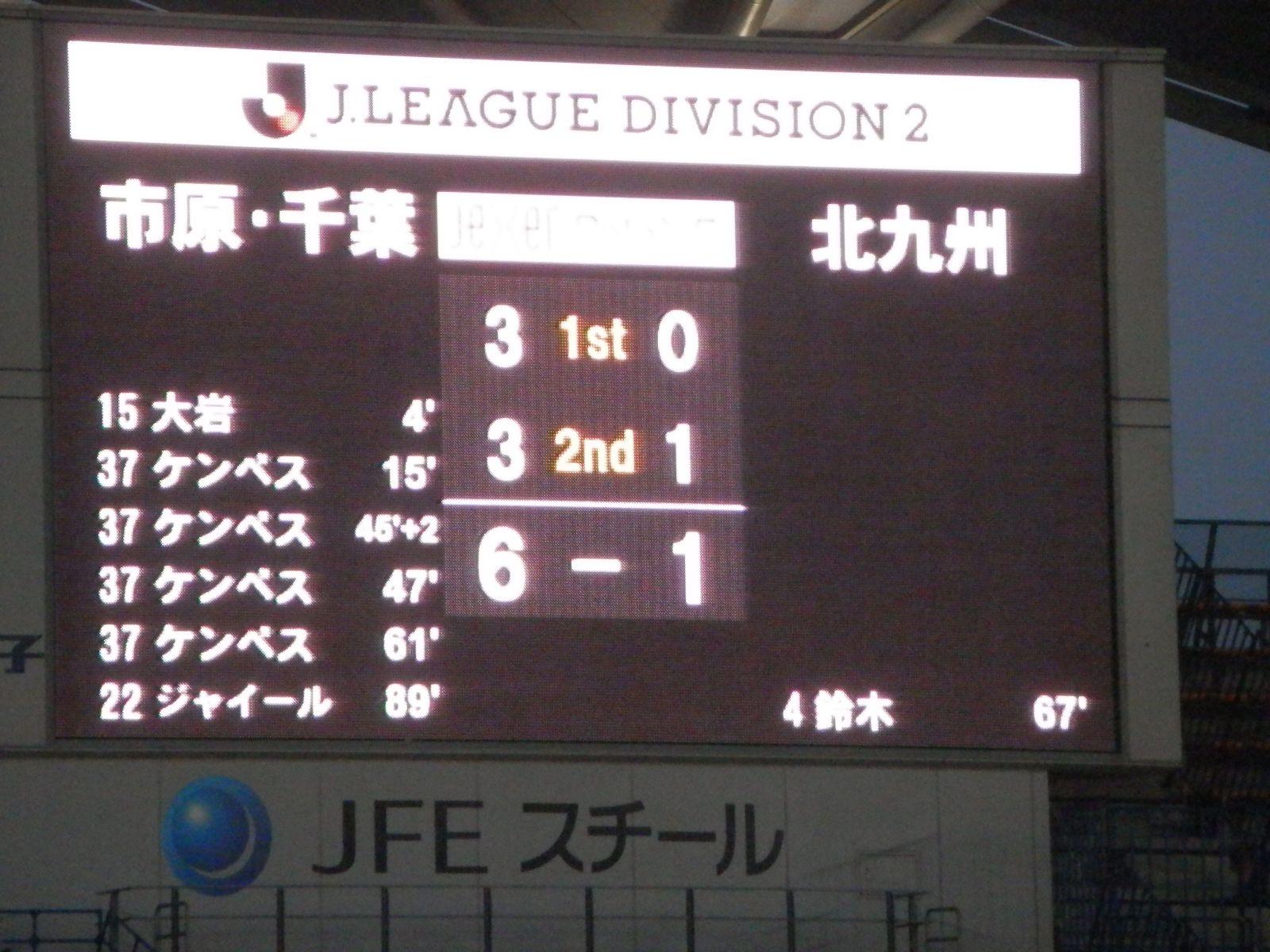 2013 J2 第6節 ジェフユナイテッド千葉 vs ギラヴァンツ北九州